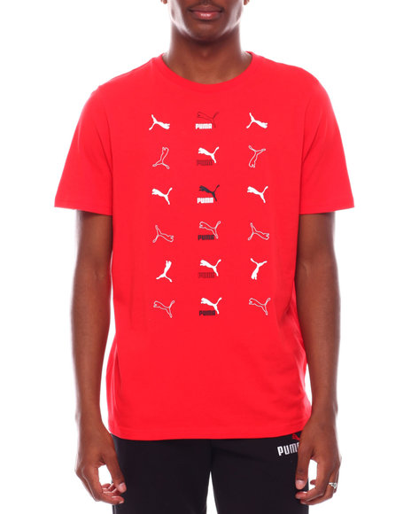 Puma - All over Panther Logo BRAND LOVE TEE