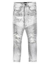 Arcade Styles - Distressed Moto Jeans (8-20)-2705053