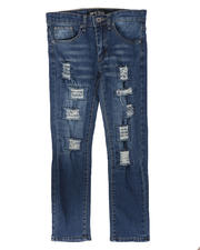 SASCO - Heavy Ripped Washed Denim Jeans (8-18)-2705116