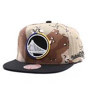 NBA, MLB, NFL Gear - Golden State Warriors Choco Camo Snapback Hat-2704794