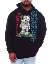 Hoodies - Digital Hustle Bear Hoodie (B&T)-2705003