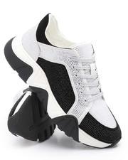 AURELIO GARCIA - Embellished Low Top Chunky Sole Sneakers-2705782