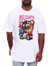 Short-Sleeve - No Days Off Bear T-Shirt (B&T)-2704878