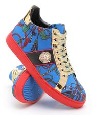 AURELIO GARCIA - All Over Print Lace Up Sneakers-2705775