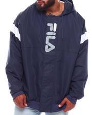 Light Jackets - Flap Windbreaker Jacket (B&T)-2701857