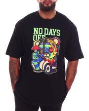 Short-Sleeve - No Days Off Bear T-Shirt (B&T)-2704907