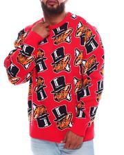 Big & Tall - Slick'd All Over Print Sweater (B&T)-2705184