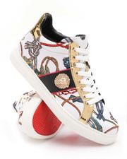 AURELIO GARCIA - All Over Print Lace Up Sneakers-2705761