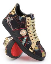 AURELIO GARCIA - All Over Print Lace Up Sneakers-2705768
