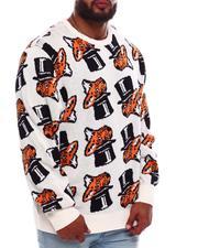 Big & Tall - Slick'd All Over Print Sweater (B&T)-2705187