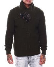 Men - Shawl Collar Toggel Sweater-2704767