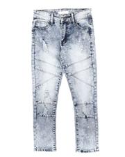 Arcade Styles - Distressed Stretch Moto Jeans (8-18)-2706067
