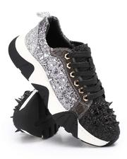 Men - Spiked Metallic Low Top Chunky Sole Sneakers-2705747