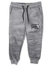 Activewear - Legend Hologram Foil Logo Tonal Camo Scuba Jogger Pants (4-7)-2705883
