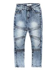 Arcade Styles - Stretch Moto Jeans (8-18)-2705916