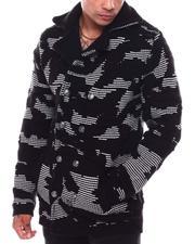 Sweaters - Camo Sweater Jacket-2705944