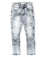 Arcade Styles - Stretch Moto Jeans (8-18)-2705973