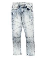Boys - Distressed Stretch Moto Jeans (8-18)-2706051