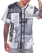 Shirts - Men's Bandana Mix Baseball Jersey-2706748