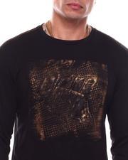 Shirts - Drip Gold Brush LS Tee-2703889