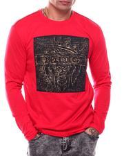 Shirts - King Lion Gold Brush LS Tee-2703899