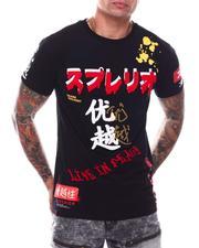 Shirts - Superior Kanji Tee w Chenille-2706543