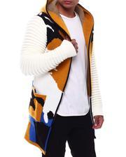 Sweaters - Camo Sweater Jacket-2704762