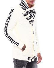 Sweaters - Greek Key Toggle Cardigan-2704782