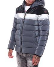 Heavy Coats - Ombre Iridescent Puffer Jacket-2705318