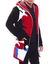 Heavy Coats - Camo Sweater Jacket-2705387