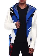 Heavy Coats - Camo Sweater Jacket-2705407