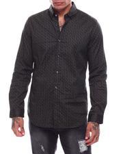 Shirts - Micro Paisley LS Woven Shirt-2705615