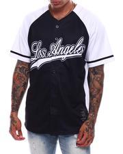 Shirts - Men's LA Baseball Jersey-2706721