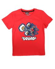 Tops - Squad Graphic Tee (8-18)-2706516