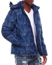Outerwear - Shiny Bubble Puffer Coat-2707845