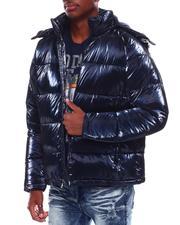 Outerwear - Shiny Bubble Puffer Coat-2707851