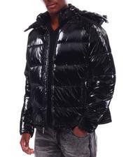 Outerwear - Shiny Bubble Puffer Coat-2707857