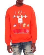 Men - Fake Hate Printed Sweatshirt-2707048