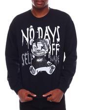 Men - No Days Off Printed Sweatshirt-2707078