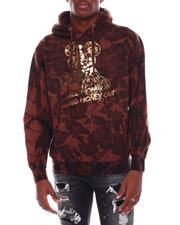 Buyers Picks - Money In/Out Foil Graphic Bleached Hoodie-2706959