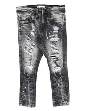 Sizes 2T-4T - Toddler - Rip & Repair Moto Jeans (2-7)-2707598