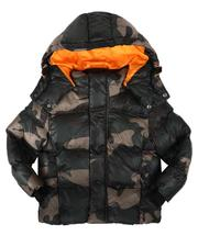 Sizes 2T-4T - Toddler - Shiny Hooded Puffer Jacket (2-7)-2708147