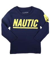Sizes 2T-4T - Toddler - Signature Logo Graphic Long Sleeve T-Shirt (2T-4T)-2708277