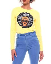Tees - Long Sleeve Black Queen T-Shirt-2699438