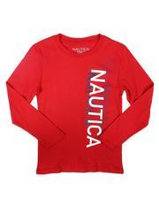 Tops - Logo Study Long Sleeve T-Shirt (8-20)-2708205