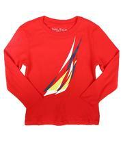 Sizes 4-7x - Kids - Layered JClass Long Sleeve T-Shirt (4-7)-2708223