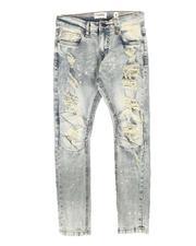 Arcade Styles - Rip & Repair Moto Jeans (8-20)-2708805