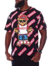 Short-Sleeve - Savage Bear All Over Print Crew T-Shirt (B&T)-2707920