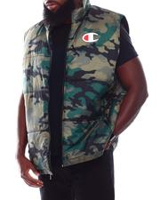 Champion - Camo Puffer Vest (B&T)-2708003