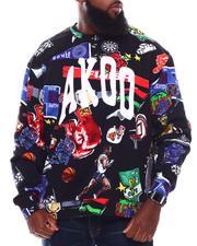 Pullover Sweatshirts - Banner Crew Sweatshirt (B&T)-2709120